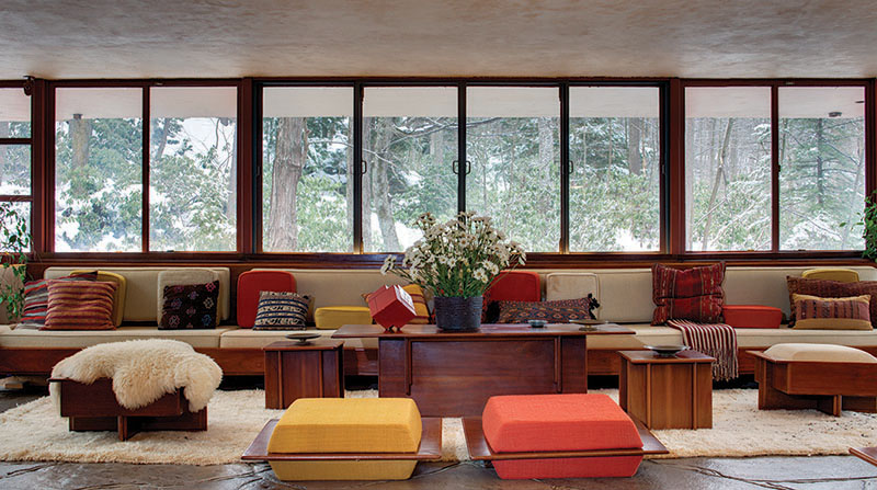 The Rugs And Carpets Of Fallingwater