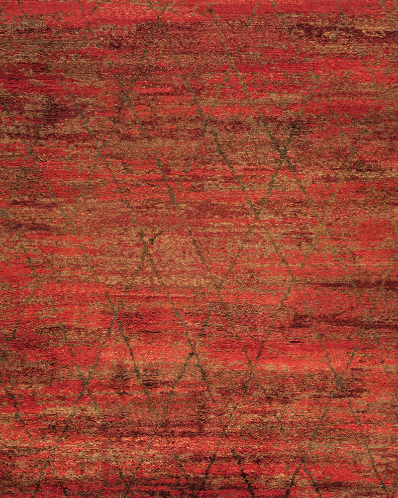 Sheena Crimson by Stark Studio Rugs | starkstudiorugs.com