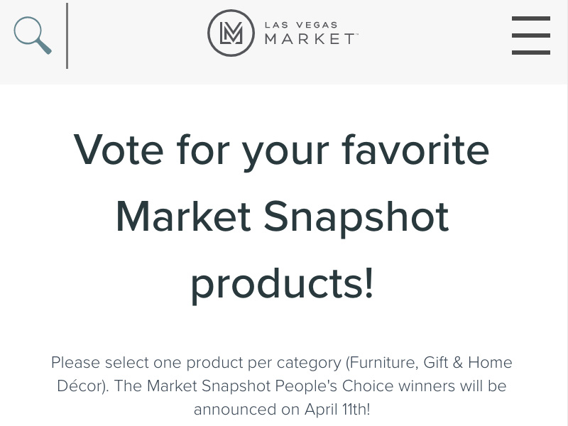IMC Market Snapshot Peoples Choice Voting