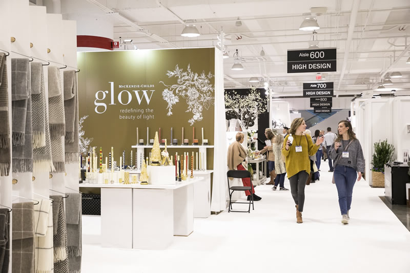 Buyers shop The Atlanta International Gift & Home Furnishings Market
