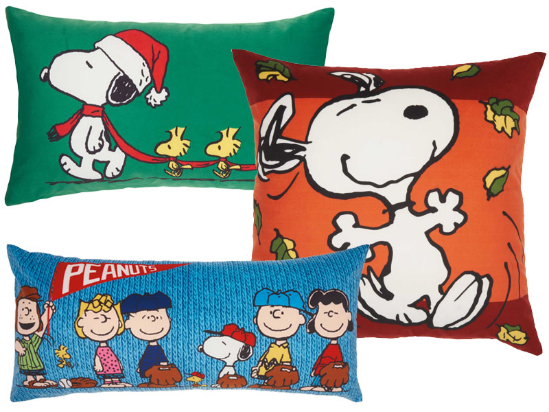 Nourison Peanuts Brand Pillows