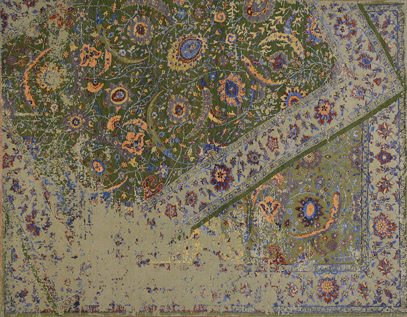 Broken Persian Tabriz From S H Rugs